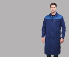 халаты рабочие мужские