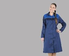 халаты рабочие женские