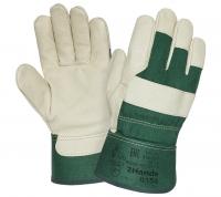 Перчатки W.G. кожаные комбинированные 2Hands, арт.0154