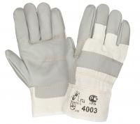 Перчатки W.G.комб. кожаные арт. 4003, р.10,5