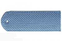 Погоны пластиковые Юстиция (голубые)