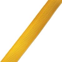 Галун 10мм, шелковый желтый