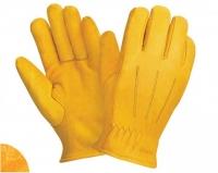 Перчатки утепленные W.G.Siberia DRIVER кожаные, тинсулейт, 0150 ЗМ