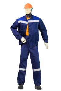 """Костюм """"Центурион"""" куртка брюки (синий/василек)"""