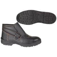 Ботинки сварщика, металло подносок, клап.,натуральная кожа, антипрокольная стелька 9210Т