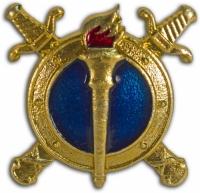 Эмблемы петличные - МВД РФ (Юстиции) с эмалью