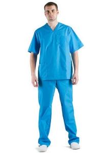 Костюм хирурга универсальный, (голубой)