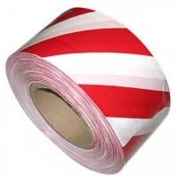 Лента оградительная (7.5см*100м.красн./бел.)