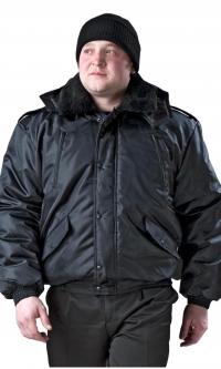 "Куртка ""Норд"" черная (ткань Дюспа)"