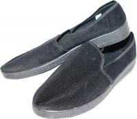 Туфли мужские (вельветовые черный  цвет.)