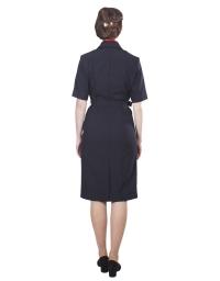 Платье Полиция с платком, с коротким рукавом (габардин)