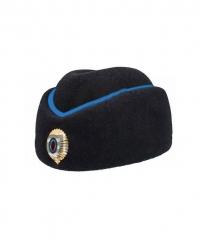 Шляпа фетровая Полиция с синим кантом женская