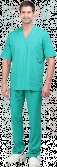 Костюм хирурга универсальный бирюзовый