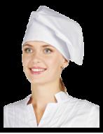 Колпак повара (бел.с защипами,тк.бязь), ШАП 005
