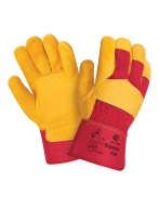 Перчатки W.G.Siberia кожаные комбинированные, арт. 0120