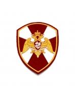 Шеврон вышитый, ОРЕЛ РГ (бордовый)