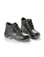 Ботинки кожаные, подошва ПУ арт. 13