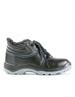 Ботинки мужские арт. 14 искусственный  мех, метал.подносок