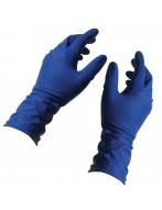 Перчатки высокопрочные,нестер. (Top Glove), синие, арт.209,  р.S
