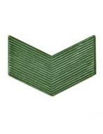Угольник на погоны старшего сержанта на кляп., (защитный)