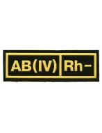 Полоска группа крови  АВ 4-