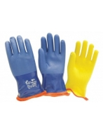 Перчатки утепленные W.G. 5К30-BLK-B, (съемный утеплитель -RMV)