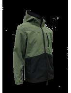 Куртка ветровлагозащитная STORM (софтшел/хаки-олива/черн.)