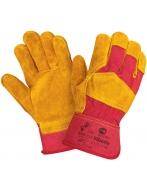 Перчатки W.G.Siberia  спилковые, комбинированные, 0112 (RL1)