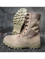Ботинки 05108П песочные,натуральная кожа текстиль