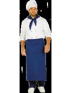 """Костюм  """"Шеф-повар""""  белый с васильковым"""