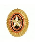 Кокарда ВС р/р золотого цвета