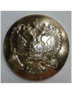 """Пуговица """"Гербовая"""", 14 мм.золото (без бортика)-Полиция"""