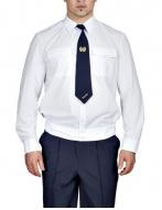 Рубашки белая с длинным рукавом