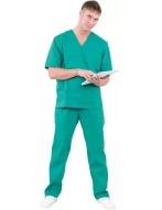 Костюм хирурга универсальный, зеленый, арт.Кос 704