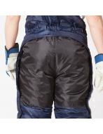 """Костюм мужской зимний """"Эльбрус"""" (куртка+полукомбенизон, синий+черный"""