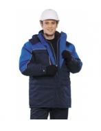 """Куртка мужская """"Фристайл"""",тёмно-синий васильковый"""