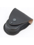 Чехол для  наручников БРС, черный (натуральная кожа)