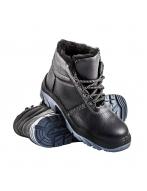 Ботинки, юфть, утепленный Металлический Подносок, Полиуретан, Л83М