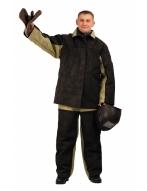 Костюм сварщика утепленный комбинированный (брезент со спилком)