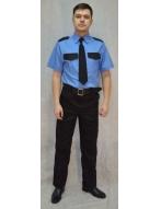 Рубашка Охрана на резинке К/Р (Форменный Стиль)